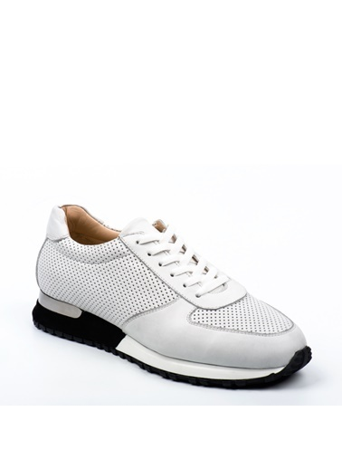 Doka Deri Sneakers Beyaz